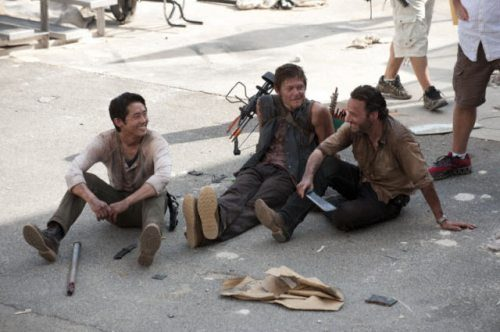 Bastidores The Walking Dead