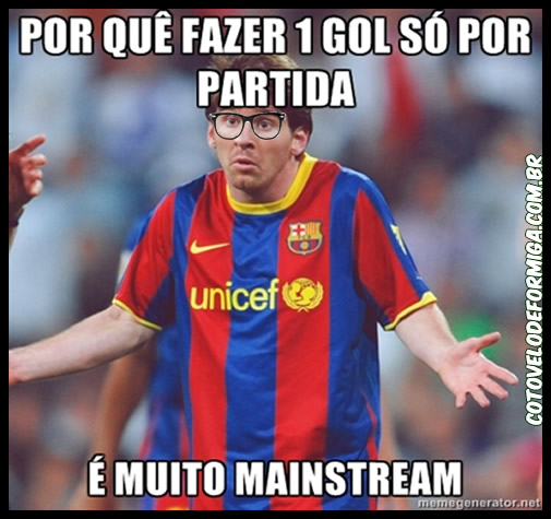 Messi Hipster