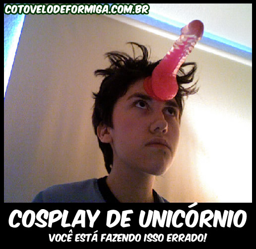 Cosplay de unicórnio
