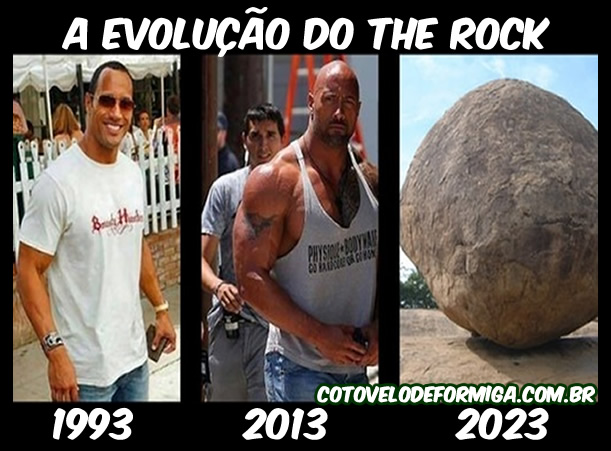 A evolução do The Rock