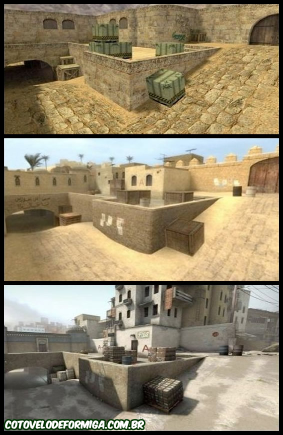 Evolução do Counter Strike