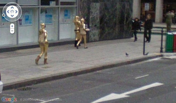 Flagras bizarros do Google Street View (23)