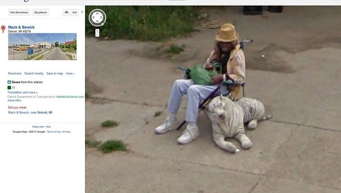 Flagras bizarros do Google Street View (24)