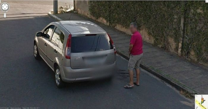 Flagras bizarros do Google Street View (6)