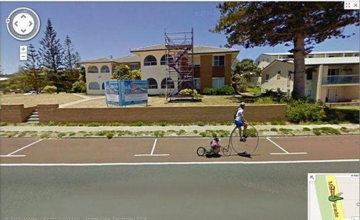 Flagras bizarros do Google Street View (7)