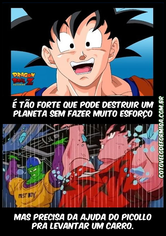 Lógica de Dragon Ball