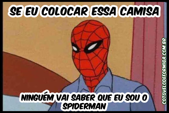 O super disfarçado Spider man
