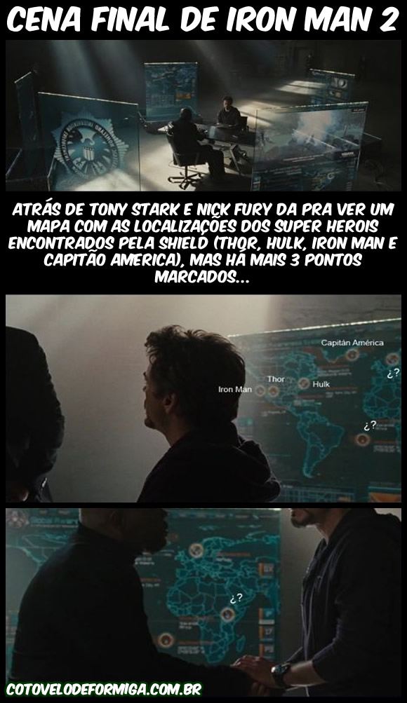 Easter Egg da Marvel