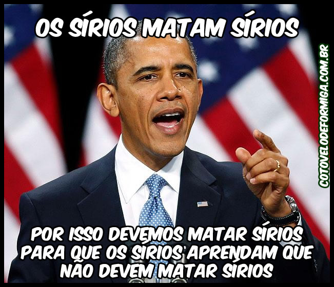 Lógica do Barack Obama