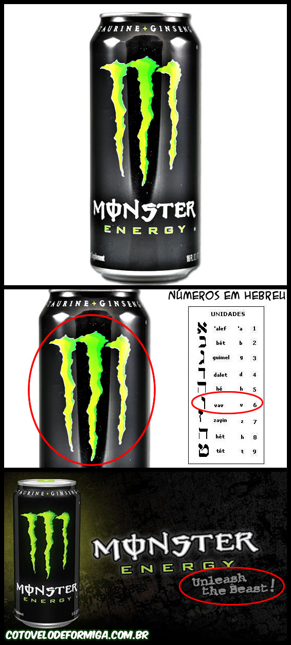 O Segredo do Monster Energy