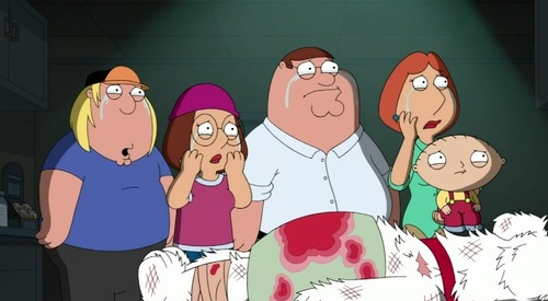 A morte de Brian Griffin de Family Guy (1)