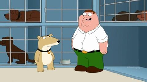 Novo Mascote A morte de Brian Griffin de Family Guy