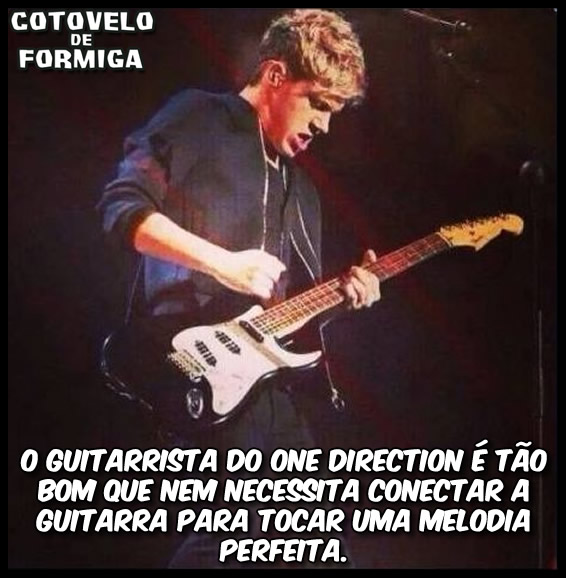 Guitarrista do One Direction